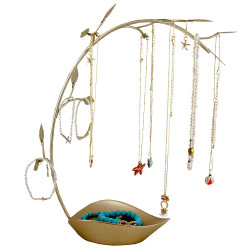 Leaf Jewelry Tree Organizer 13.5 Inches (JUST RESTOCKED)