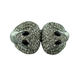 Cobra Crystals Cuff Bracelet