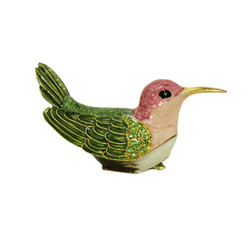 Anna's Hummingbird Trinket Box