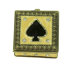 Ace of Spades Trinket Box