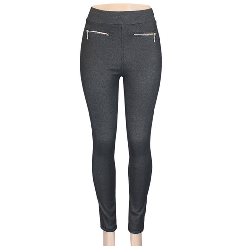 Charcoal Cotton Jeggings Small