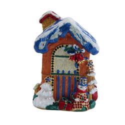 Gingerbread House Trinket Box Bejeweled