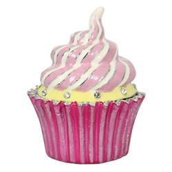 Cristiani Pink Cupcake Trinket Box