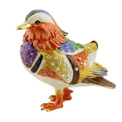 Mandarin Duck Trinket Box