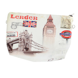 London themed Cosmetic bags 3 piece set
