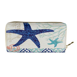 Vintage Starfish Wallet Phone holder