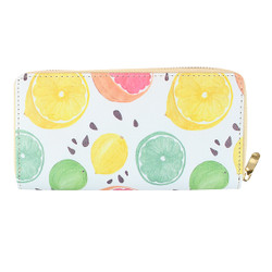Vintage Lemon Wallet Phone holder