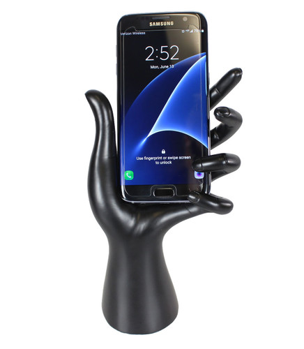 Hand Cell Phone Holder Black