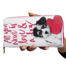 Puppy Love Wallet Phone Holder