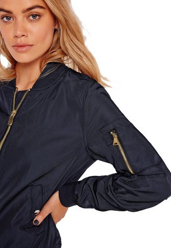 Lightweight Bomber Jacket Navy (XL)
