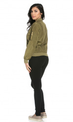 Lightweight Bomber Jacket Olive (XL)