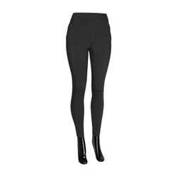Distress Canopy Jeggings Black Plus Size