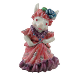 Little Lady Rabbit Trinket Box