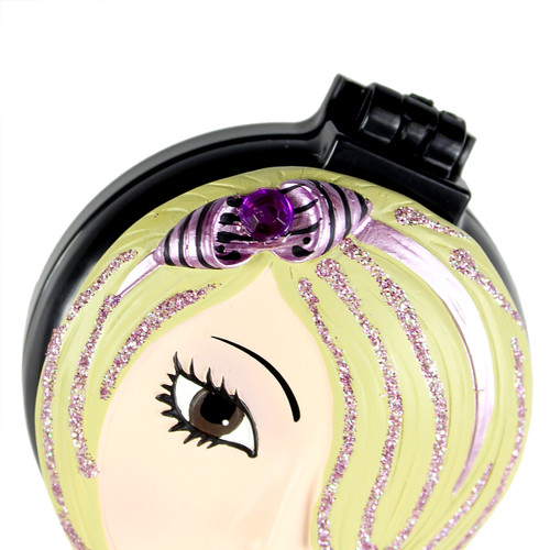Jenna Compact Mirror Popup Brush