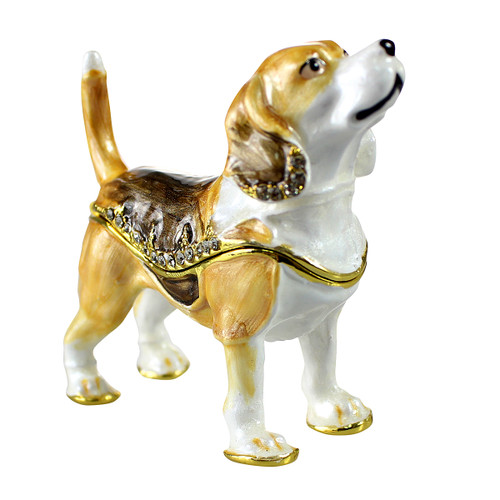 Beagle Trinket Box