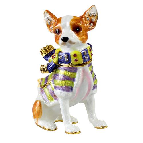 Chihuahua Trinket Box