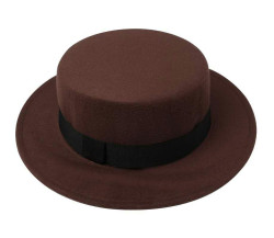 Pork Pie Hat Brown