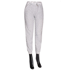 Distressed Joggers Gray Plus Size