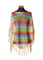 Shimmer and Shine Fringed Poncho LGBT