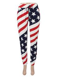 American Flag Jogger Pants