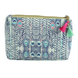 Feather Arrows Print Multiuse Bag Tassels