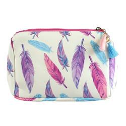 Navajo Feather Print Multiuse Bag Tassels