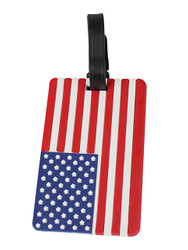 American Flag Luggage Tag
