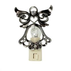Crystal Bejeweled Angel Nightlight