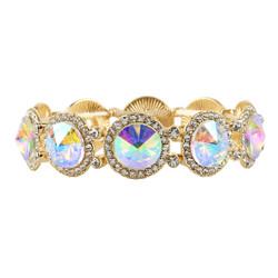 Elegant Crystal Bracelets Gold