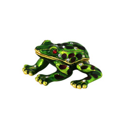 Itty Bitty Tree Frog Trinket Box