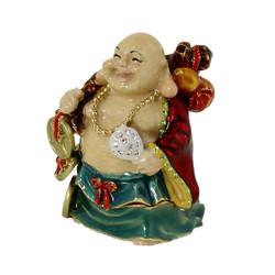 Buddha of Wealth and Prosperity Trinket Box