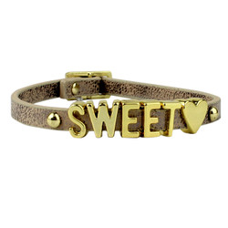 BCBGeneration Sweet Heart Bracelet Brown