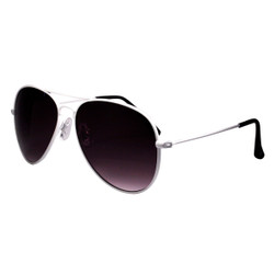 Aviator Sunglasses White