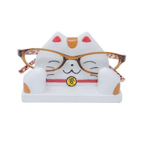 Maneki Neko Eyeglass Stand