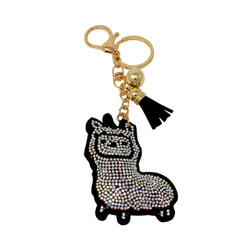 Cria Key Chain with Soft Padded Felt Backing