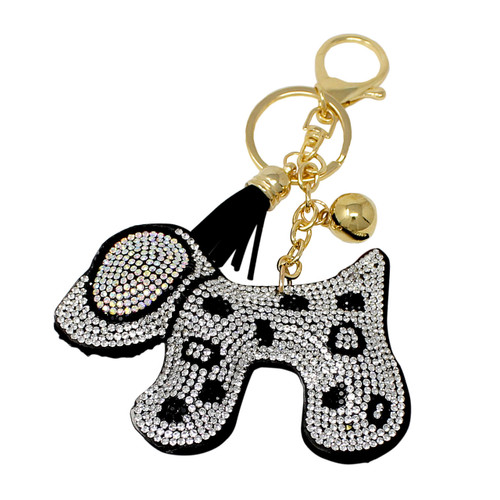 Puppy Key Chain with Soft Padded Felt Backing