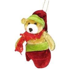 Christmas Tree Ornament Holiday Decor Teddy Bear