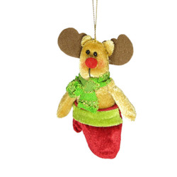 Christmas Tree Ornament Holiday Decor Reindeer