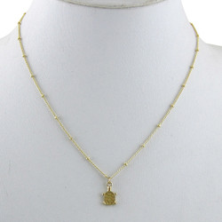 Turtle Necklace Gold Tone
