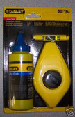 Stanley Chalk Line Set, With Line Level and Extra Chalk -- Free Shipping!!