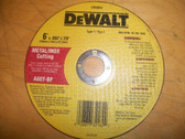 "6"" x .055"" x 7/8"" DeWalt Metal/Inox Cutting Wheel Bulk"
