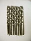 "1/4"" HSS Drill Bits, Lot of 10 bulk package"