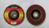 "4"" x 5/8"" Flap Discs, Type 27, AO, 50 Discs, Free Shipping!"