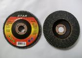 "4"" x 5/8"" Flap Discs, Type 27, ZIR, 100 Discs, Free Shipping!"