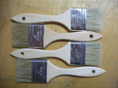 "2"" Paint/Chip White Bristle Brush 12 Lot"