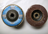 "4"" x 5/8"" Flap Discs, Type 27, AO, Professional Grade, 100 Discs, Free Shipping!"