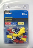 Disconnect Assortment Ideal 770302, 18pk, Lot of 1