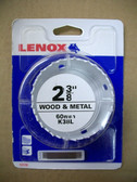 "2-3/8"" Lenox Hole Saw Bit Bi-Metal, 1-1/2"" Depth, K38L - FREE SHIPPING"