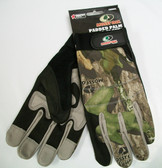 Mossy Oak Padded Palm Glove, Large OR XL, 4 Pairs