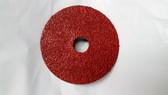 "4-1/2"" x 7/8"" Fiber Resin Sanding Disc Aluminum Oxide 24 Grit, Gemtex, 25 Discs"